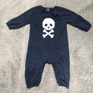 Skull Sweater Bodysuit
